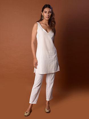White Cotton Slip