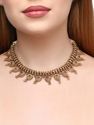 Gold Tone Sterling Silver Necklace