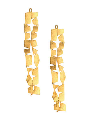 Gold Tone Handcrafted Ear Cuffs