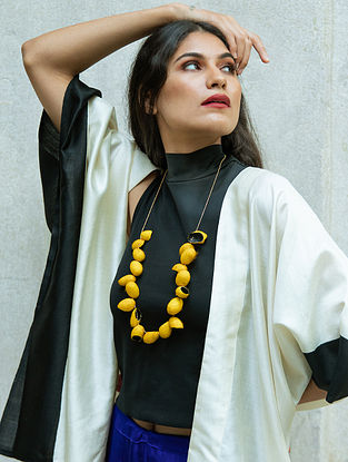 Yellow Handcrafted Necklace