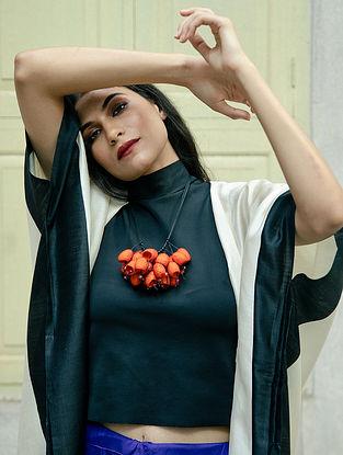 Orange Handcrafted Necklace