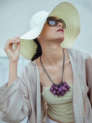 Purple Handcrafted Necklace