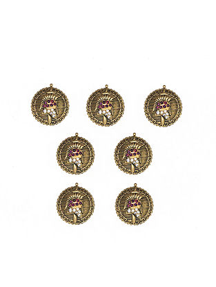 Gold Plated Silver Buttons