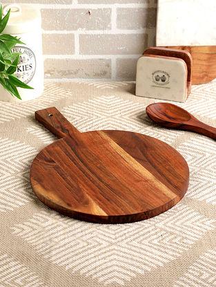 Acacia Wood Malaga Pizza Board (L- 17in, W- 12in, H- 0.5in)