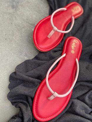 Beige Handcrafted Vegan Leather Slip Ons