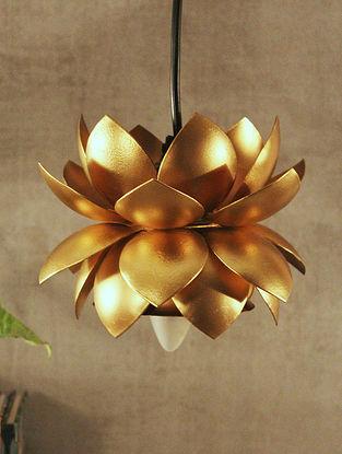 Gold Sarover Hanging Lamp (Dia-6.5in, H-5.5in)