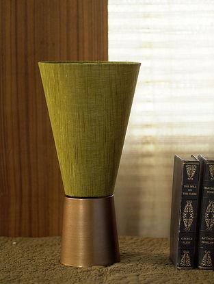 Green Courtyard Jai Table Lamp Shade (Dia-7.5in, H-15in)