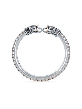Sterling Silver Adjustable Kada (Size: 2/4)