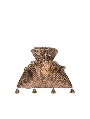 Bronze Handcrafted Polyester Potli
