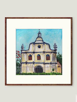 Multicolour Fort Cochin Fine Art Print