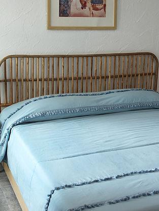 Blue Akasa Doube Bedcover (L-108in ,W-90in)
