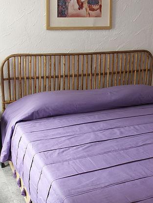 Purple Samudra Double Bedcover (L-108in ,W-90in)
