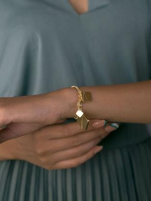 Gold Plated Handcrafted Bracelet