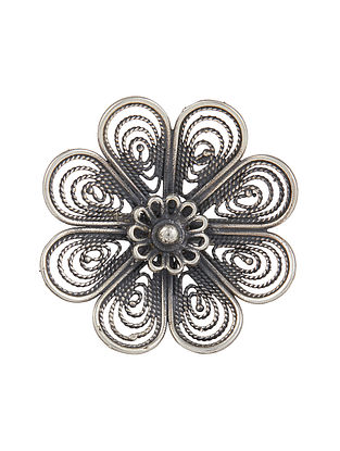 Sterling Silver Adjustable Ring
