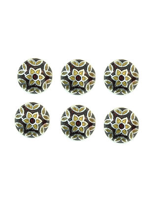Sterling Silver Cuff Buttons (Set of 6)