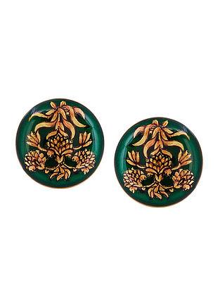 Green Ramgarh Cufflinks