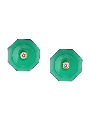 Green Onyx Cufflinks