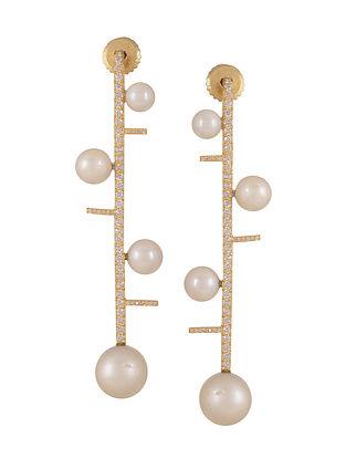 Pearl Cascade Earrings