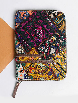 Multicolored Handcrafted Vintage Banjara Leather Wallet