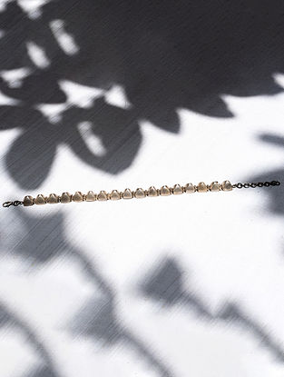Tribal Silver Anklet (sold as a Single Piece)