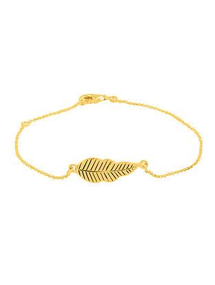 Gold Tone Sterling Silver Bracelet
