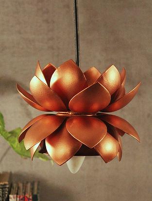 Copper Sarover Hanging Lamp (Dia-6.5in, H-5.5in)