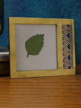 Gold Brass Utsav Decor Photo Frame (L-4.75in ,W-2.5in ,H-4in)