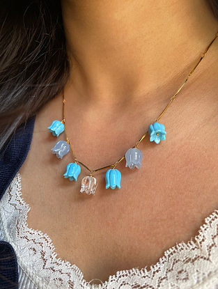 Blue Handcrafted Necklace