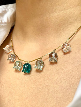 Green Handcrafted Necklace