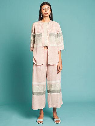 Manami Pink Linen Pants