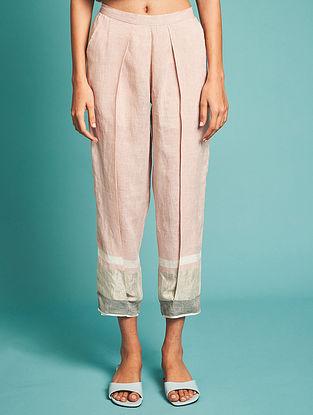 Vara Pink Linen Pants