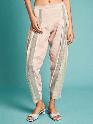 Naoki Pink Linen Pants