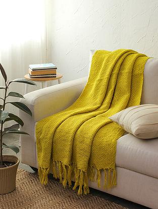 Yellow Zarad Throw (L-66in ,W-53in)