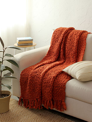 Rust Morch Throw (L-64in ,W-52in)