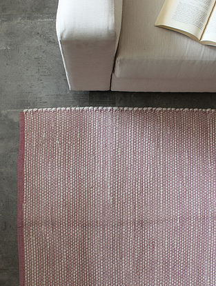 Purple Concord Speckles Floor Rug (L-72in ,W-48in)