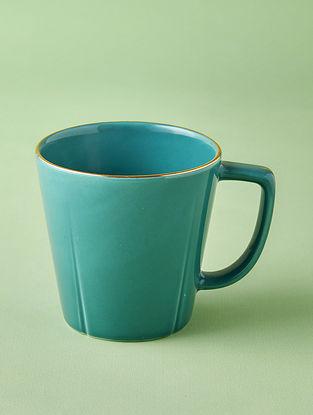Jade Porcelain Handcrafted Mug (Dia-3.25in ,H-3.25in)