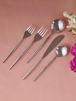 Silvertone Cutlery Set (Set of 5)