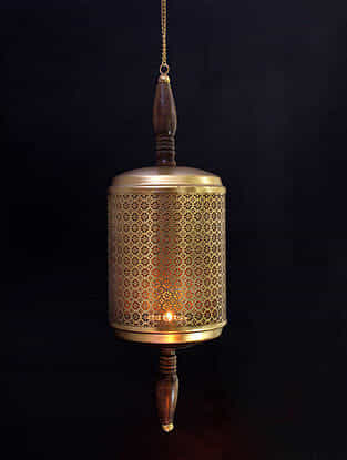 Malhar Iron Hanging Tealight Holder
