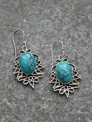 Calcite Silver Earrings