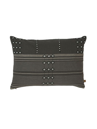 Thar Charcoal Cushion Cover (20in x 14in)