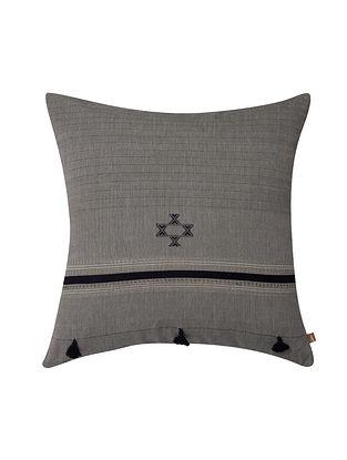 Sahara Charcoal Cushion Cover (18in x 18in)