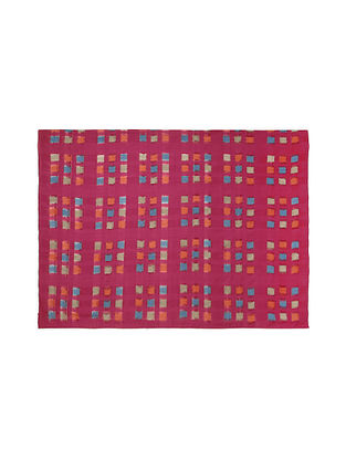 Bahati Pink Double Ikat Single Bedcover (84in x 60in)