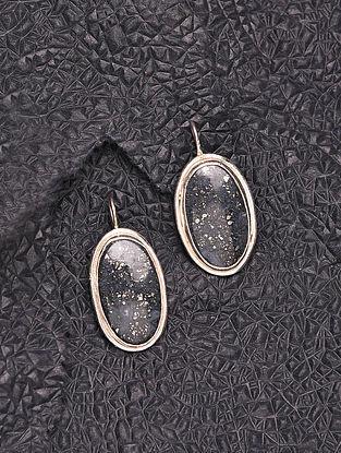 Sandstone Silver Earrings