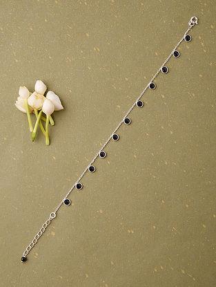Classic Silver Bracelet With Black Onyx