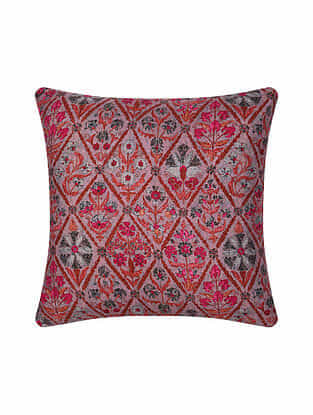 Multicolor Digital Printed Twill Cushion Cover (16in X 16in)