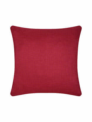 Pink Digital Printed Silk Cushion Cover (20in X 20in)