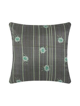 Multicolor Digital Printed Silk Cushion Cover (20in X 20in)