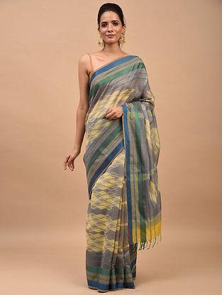 Multicolored Shibori Dyed Maheshwari Saree