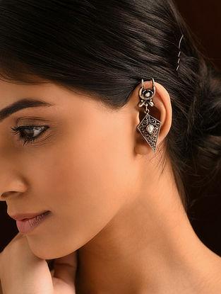 Tribal Silver Ear Cuff
