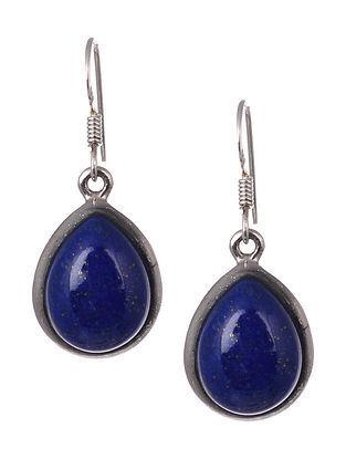 Lapis Lazuli Tribal Silver Narrings